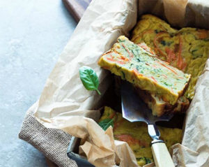 Savory Vegetable Terrine from Gourmande in the Kitchen