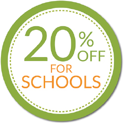 20% off for schools