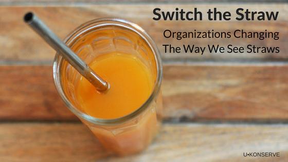 switch the straw