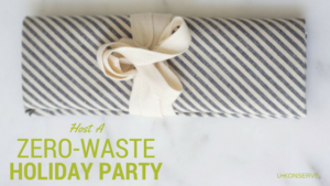 zero-waste holiday party
