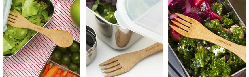 bamboo waste free utensil