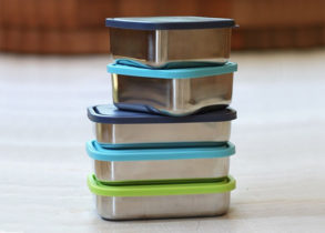 stainless steel food storage